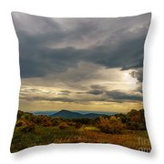 Old Rag - Calm Before The Storm Throw Pillow