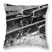 Old Rails Throw Pillow