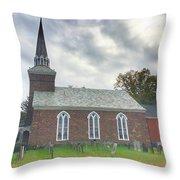 Old Reform Church Throw Pillow