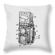Old Rollie Vintage Camera T-shirt Throw Pillow