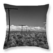 Old Route 66 #2 Throw Pillow