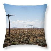 Old Route 66 #4 Throw Pillow