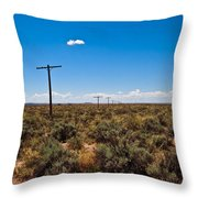 Old Route 66 #5 Throw Pillow