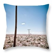 Old Route 66 #6 Throw Pillow