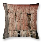 Old Rugged Barn #2 Throw Pillow