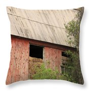 Old Rugged Barn #4 Throw Pillow