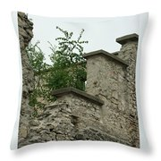 Old Ruins Throw Pillow