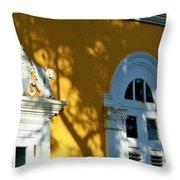 Old San Juan # 5 Throw Pillow