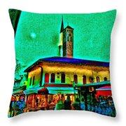 Old Sarajevo Throw Pillow