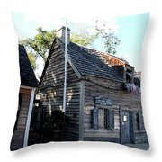 Old School House - St Augustine Throw Pillow