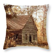 Old Church - Vintage Throw Pillow