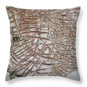 Old Smiles - Tile Throw Pillow