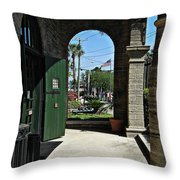 Old St. Augustine Throw Pillow