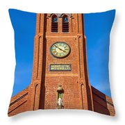 Old St. Mary's Church Throw Pillow