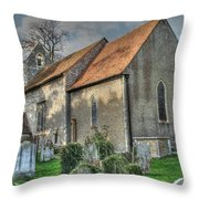Old St Mary's Walmer Throw Pillow