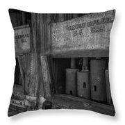 Gray's Stamp Mill Throw Pillow