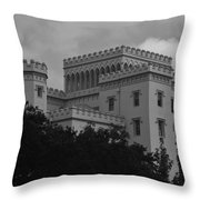 Old State Capitol Throw Pillow