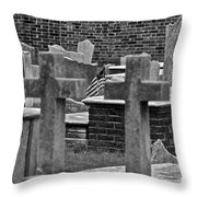 Old Stones Throw Pillow