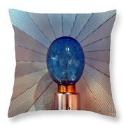 Old Style Camera Flash Throw Pillow