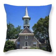 Old Swedes' Church Throw Pillow