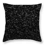 Old T V Snow Throw Pillow