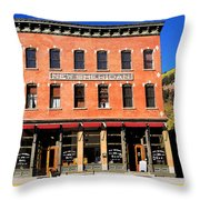 Old Telluride Throw Pillow