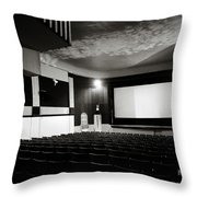 Old Theatre 3 Throw Pillow by Marilyn Hunt