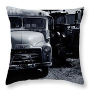 Old Things Throw Pillow