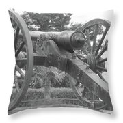 Old Time Cannon Throw Pillow