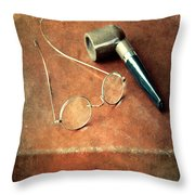 Old Time Travel Throw Pillow