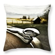 Old Timer 3 Throw Pillow