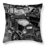 Old Times 2 Throw Pillow