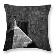 Old Town Walls Throw Pillow