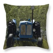 Old Tractor 6 Throw Pillow