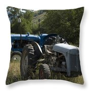 Old Tractor 7 Throw Pillow