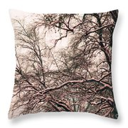 Old Tree 2 Throw Pillow