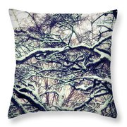 Old Tree 3 Throw Pillow