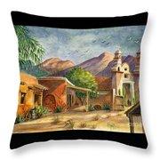 Old Tucson Throw Pillow