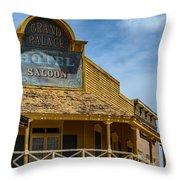 Old Tucson Saloon Throw Pillow