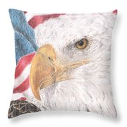 Old Values Throw Pillow