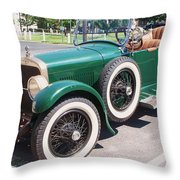 Old  Vintage Car Throw Pillow