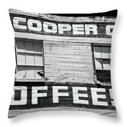 Old Waco Throw Pillow