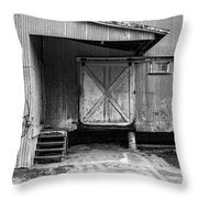 Old Warehouse Norwich Vermont Throw Pillow