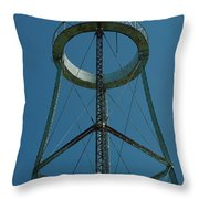 Old Watertower  Throw Pillow