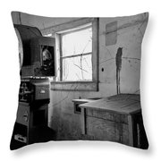 Old Weigh Scale Throw Pillow