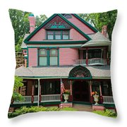 Old West End Pink 2 Throw Pillow