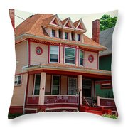 Old West End Pink 3 Throw Pillow