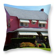 Old West End Pink 6 Throw Pillow