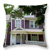 Old West End Purple 2 Throw Pillow