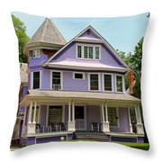 Old West End Purple 3 Throw Pillow